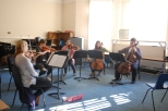 Brahms Sextet in full swing